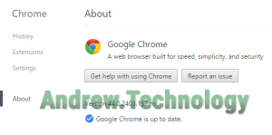 Chrome up to date Windows 10