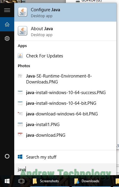 java application download for windows 10 64 bit