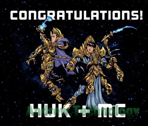 Congrats HuK & MC!