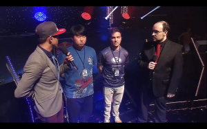 HuK & MC get interviewed after winning Red Bull Battle Grounds