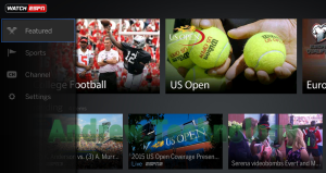 WatchESPN app Featured US Open Fire TV