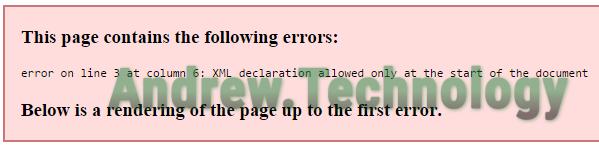 fixing wordpress sitemap xml error on line at column