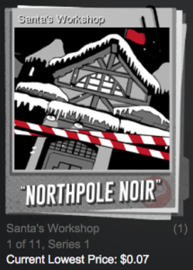 Steam Winter Sale 2015 North Pole Noir Santa's Workshop