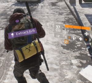 The Division Dark Zone Extraction Agent