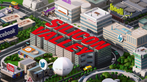 Silicon Valley intro logo