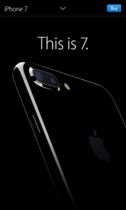 "Apple iPhone 7 ""This is 7."""